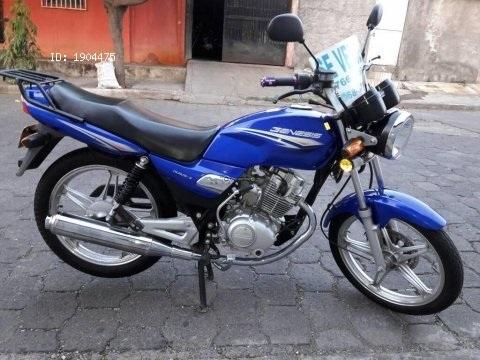 VENDO MOTO GENESIS HJ 125 AÑO 2016
