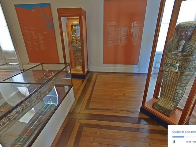 Passeio virtual mostra exposições do Museu Nacional antes do incêndio
