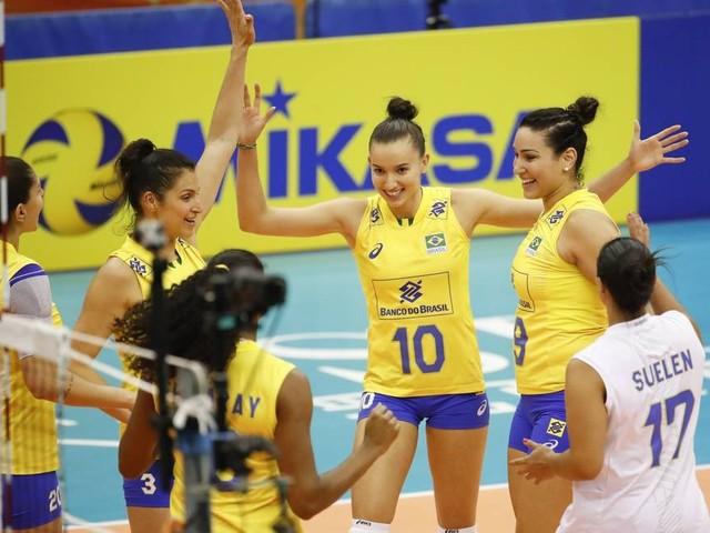 Brasil estreia na Liga das Nações de Vôlei Feminino