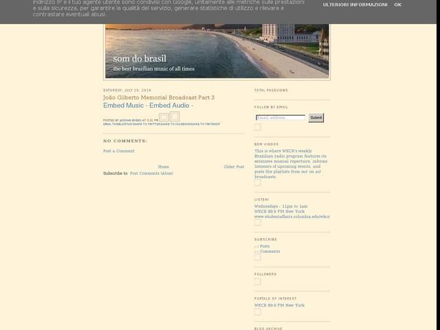 João Gilberto Memorial Broadcast Part 3