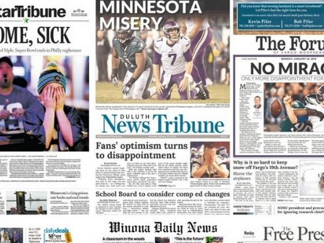 Euforia e frustração: como os jornais americanos manchetaram o Super Bowl