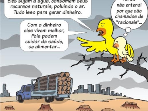 Animal Humano: Meio Racional, Meio Irracional