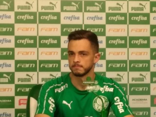 100% na Libertadores, Hyoran se diz feliz com momento no Palmeiras