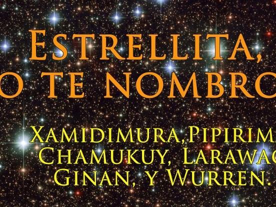 Nuevos nombres de estrellas