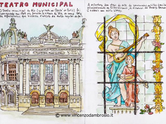 Carnet de Voyage #8: Teatro Municipale di Rio e altri teatri