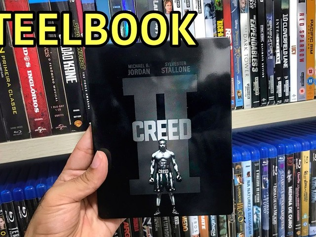 VÍDEO | SteelBook de CREED 2 do BRASIL