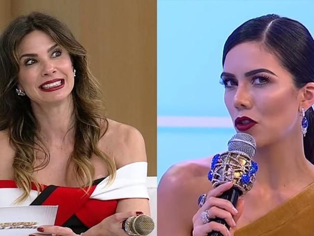 Daniela Albuquerque e Luciana Gimenez entram em 'guerra' nos bastidores da RedeTV! e não se falam mais