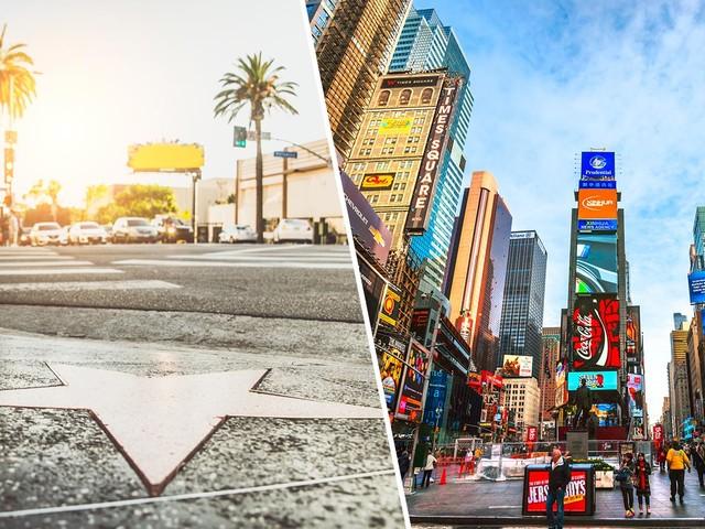 Estados Unidos 2×1! Passagens para Los Angeles com Nova York na mesma viagem a partir de R$ 2.237 saindo de São Paulo!