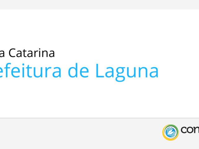 Prefeitura de Laguna - SC: abre novo edital de Chamada Pública