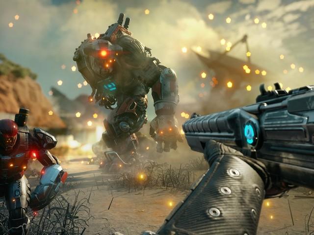 'Rage 2' une criadores dos tiros de 'Doom' e do mundo aberto de 'Just Cause'