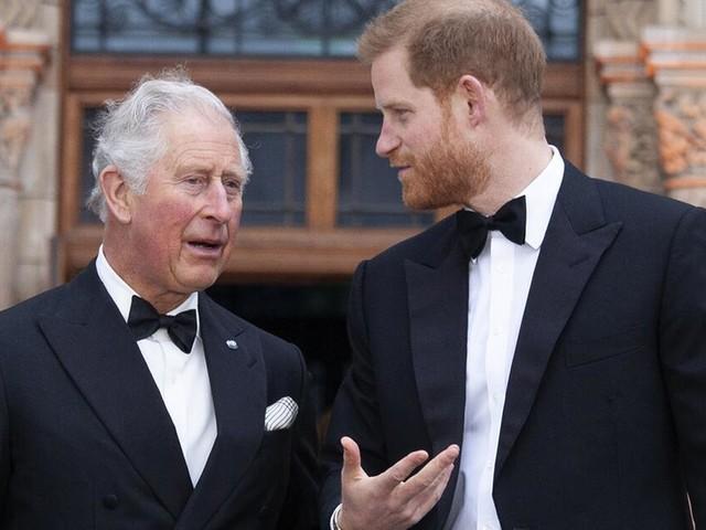 Charles gab Harry nach seinem Auszug aus dem Palast Geld