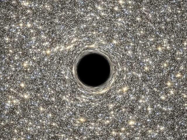 Schwarzes Loch: Mysteriöses Signal aus dem All stellt Forscher vor ein Rätsel