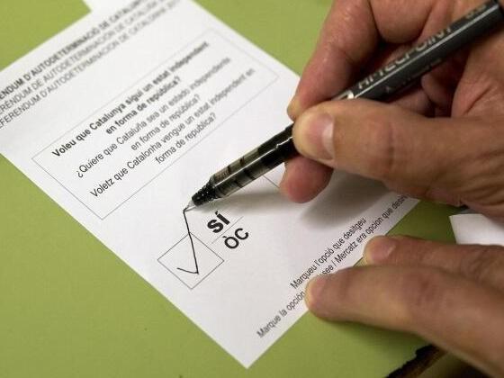 Katalonien-Referendum belastet Euro