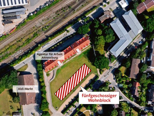 Ahrensburg: Verkehrsaufsicht beanstandet Pläne für Kita an Bogenstraße