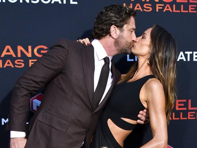 Liebes-Comeback: Gerard Butler küsst Morgan auf Red Carpet!