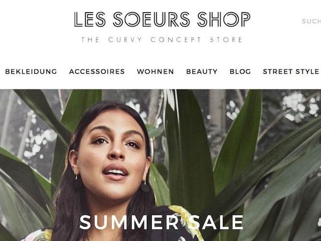 Les Soeurs Shop: Deutschlands erster Curvy Concept Store