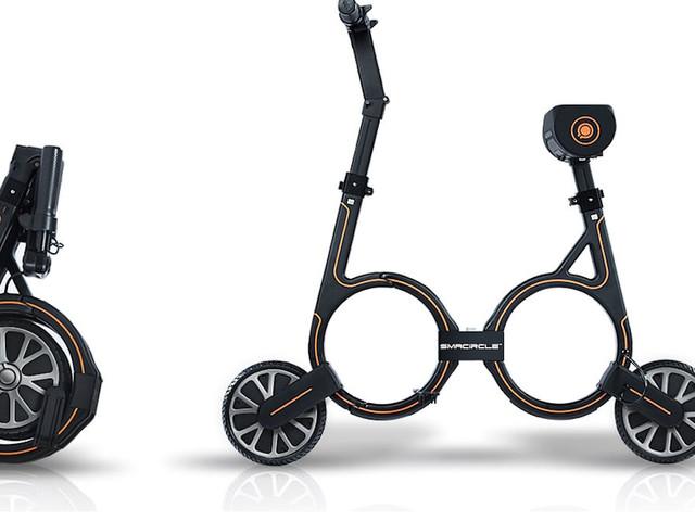 E-Scooter zum Falten: Verrückter E-Roller Smacircle im Test