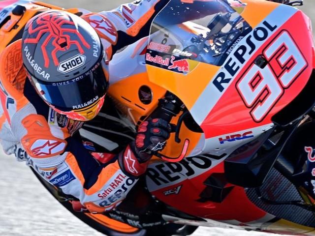 """MotoGP-Star Márquez: """"Habe gelernt, meinen Körper zu verstehen"""""""