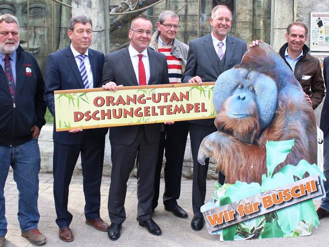 """""""Orang-Utan Dschungeltempel"""" im Zoo Osnabrück eröffnet"""