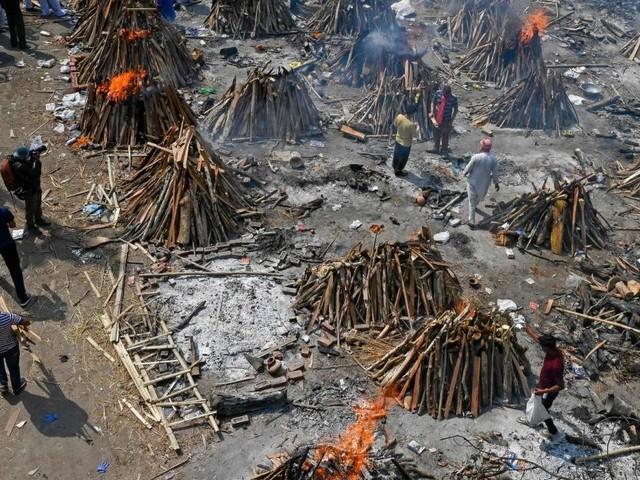 """Corona-Hölle Indien: """"Rund um die Menschen ist der Tod"""""""