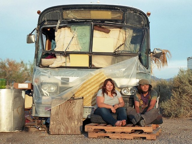 Menschen inSlab City: Die Wüste lebt