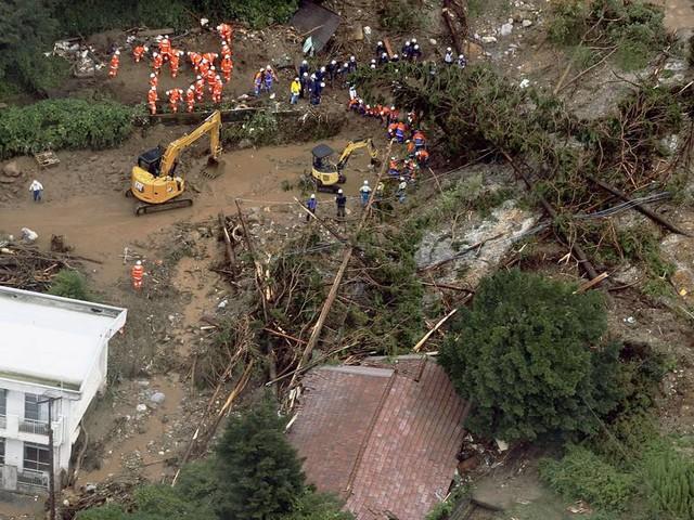 Erneut starke Regenfälle in Japan - Warnung vor Überschwemmungen und Erdrutschen