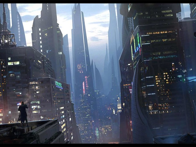 Digital Paintings: Raphael Lacoste