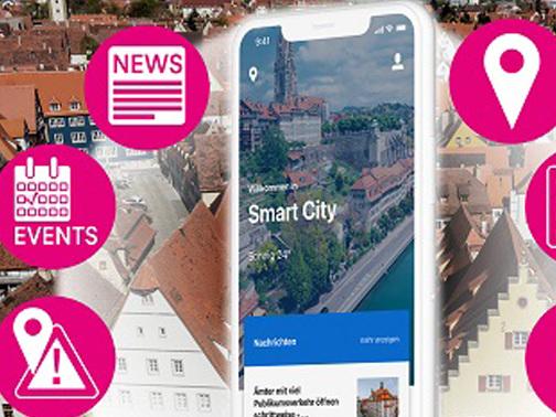 Citykey-App: Telekom will Bürgerservice-Portal für Städte aufbauen