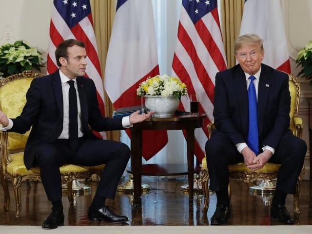 Streit um die Nato: Hirntod? Wie Macron Trump zu seiner Marionette machte