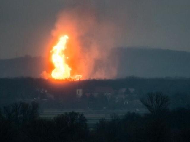 Nach Explosion in Baumgarten: Erdgas-Versorgung Richtung Süden beeinträchtigt