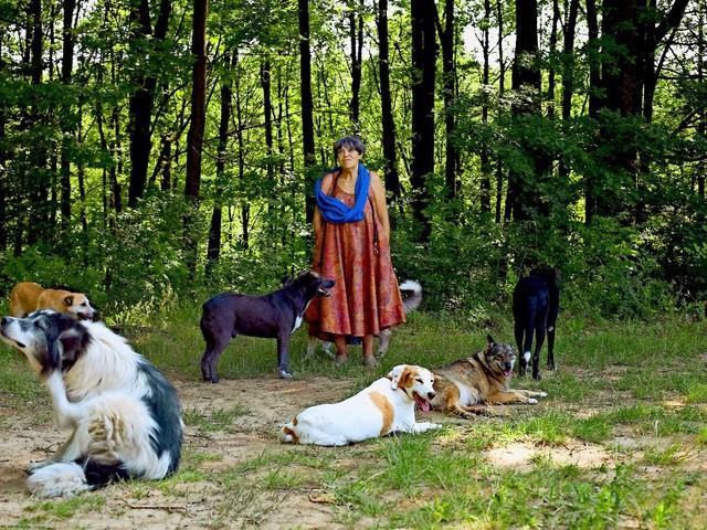 Nachruf auf Ute Langenkamp: Die gläubige Hunderetterin