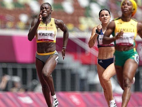 Olympia: Sprinterin Kwayie erreicht Halbfinale über 200 Meter