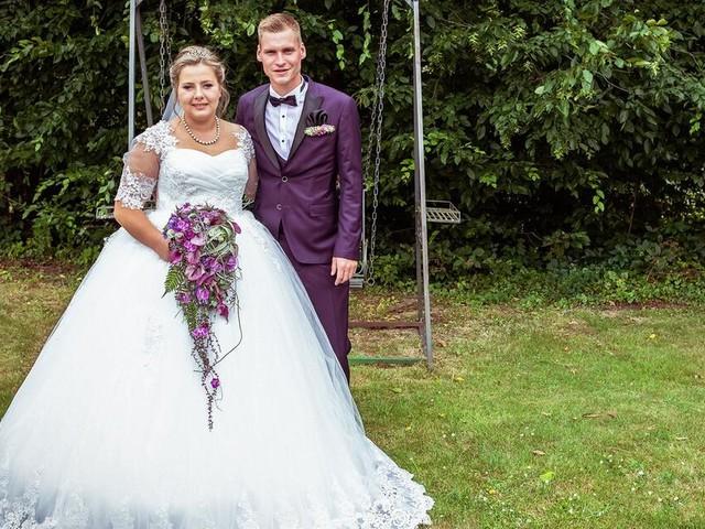 Sarafina Wollny und Peter Heck: So romantisch war ihre Hochzeit