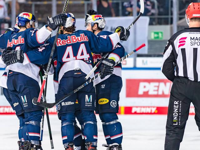 Eishockey: EHC bleibt vorn - Nürnberg kriegt die Kurve