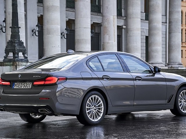 BMW 530e 2021: Massenmodell