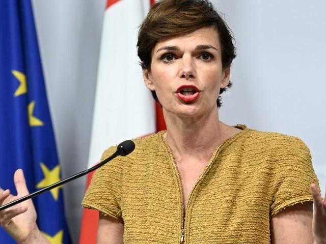 Rendi-Wagner traf Hahn in Brüssel zu Arbeitsgespräch