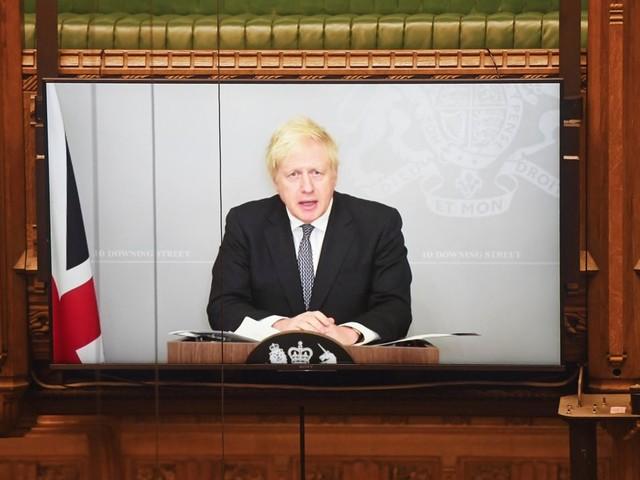 Boris Johnson: Ton-Panne im Unterhaus