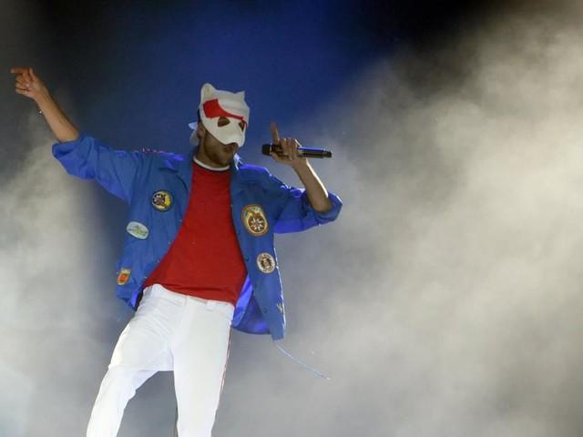 Unter der Maske von Rapper Cro steckte gelegentlich ein Double