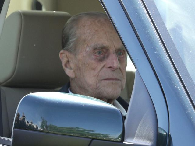 Prinz Philip: Der Ehemann der Queen hatte einen Autounfall