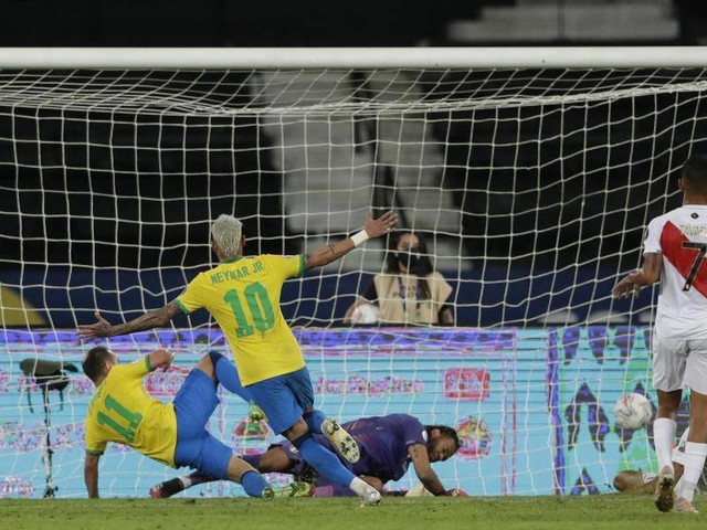 Südamerika-Meisterschaft: Brasilien schlägt Peru bei Copa América