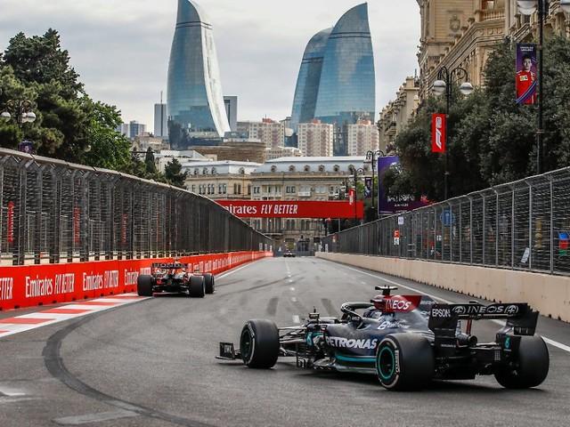Die Formel-1-Lehren aus Baku: Unter Druck patzt sogar Hamilton