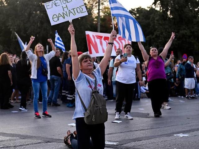 Griechische Justiz will Anzeigen von Corona-Leugnern ablehnen