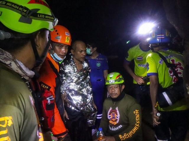 Thailand: Meditierender Mönch aus überfluteter Höhle gerettet
