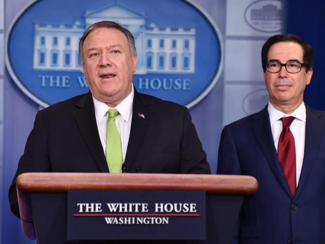 USA verhängen nach iranischen Angriffen neue Sanktionen gegen Teheran