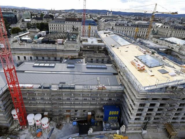 Parlamentsumbau könnte um 70 Mio. Euro teurer werden als geplant