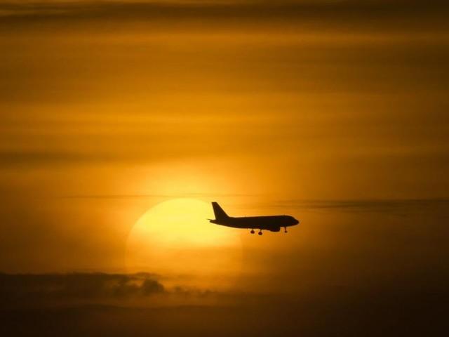 Regnet es mehr, wenn weniger Flugzeuge in der Luft sind?