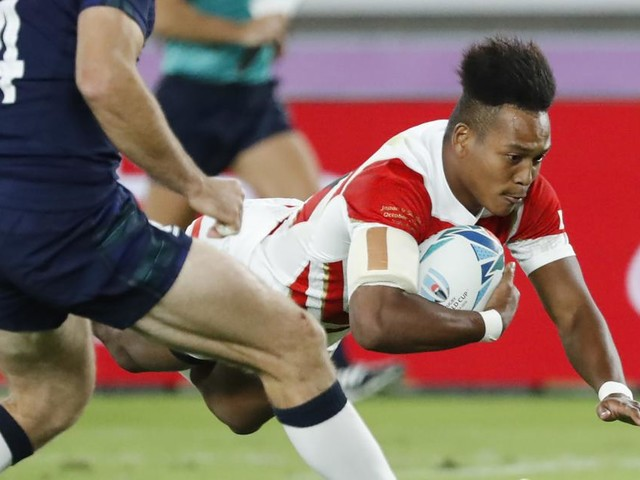 Rugby-WM, Tag 25: Japan braust ins Viertelfinale