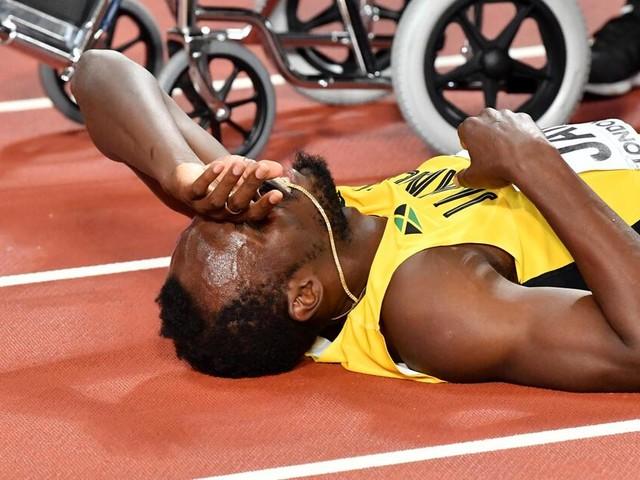 """WM in London: Usain Bolt humpelt aus dem Stadion - ein """"grausamer Abschied"""""""