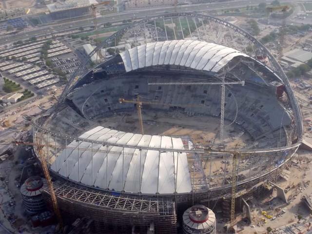 Timelapse: 3 Jahre Stadionumbau in 5 Minuten