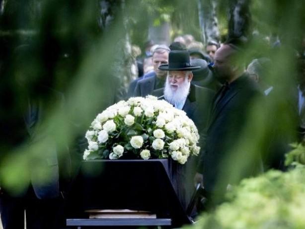 Abschied: Trauerfeier für Artur Brauner